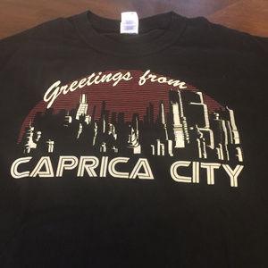 Tops - Battlestar Galactica Caprica City T-Shirt Medium